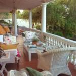 veranda del giardino