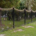 recinzione giardino in ferro battuto