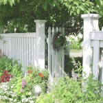 staccionata recinto giardino