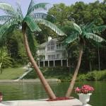 palma finta giardino e alberi artificiali