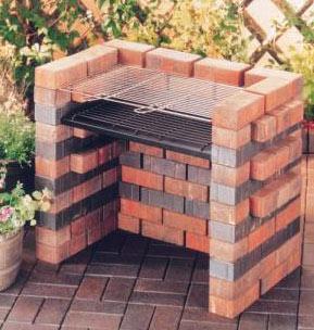 Barbecue in muratura fai da te da giardino