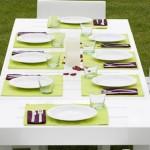 sedie tavolo plastica giardino