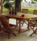 set sedie tavolo in legno